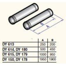 Dūmvada gargabali D80, 250mm (2 gab.), DY613