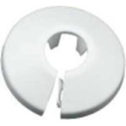 Dekoratīvā rozete D10 balta TIA