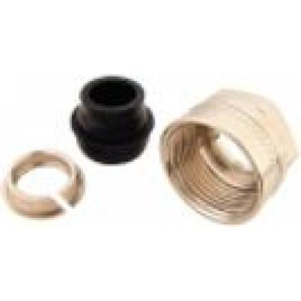 Cauruļu pievienojums D15mm x G¾''(kapara, karbona