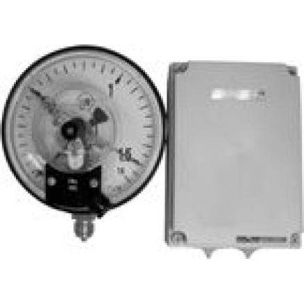 El.kontaktmanometrs D160 0-10 bar sertif.868 WIKA