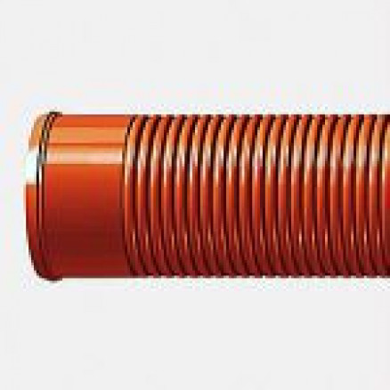 PRAGMA PP caurule 3m/gab Ø 160/139 T8, brūna