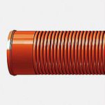PRAGMA PP caurule Ø 160/139 6m T8, brūna (010724)
