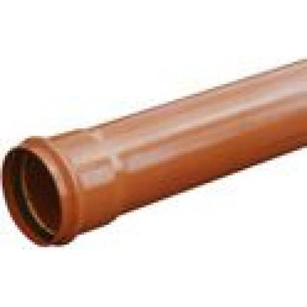 PVC caurule 250x6,2 SN4; 1m Wavin