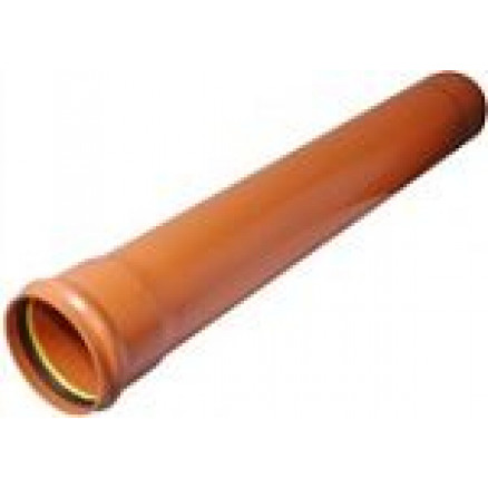 PVC caurule SN4 Dn110x3,2 6m PipeLife