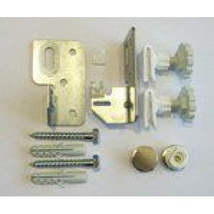 Radiatoru sienas stiprinājuma āķi (3gab.)