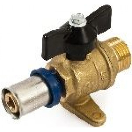 Presējams lodveida ventilis 1/2''ā x 16 GF