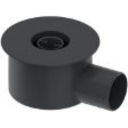 Sifons dušas kanālam, 1,2 l/s DN75,h=140mm TECE
