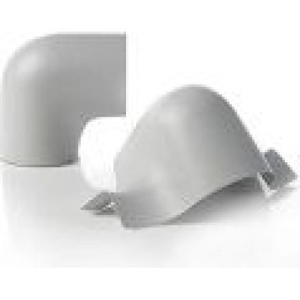 Siltumizolācijas PVC līkums 167mm x 90°