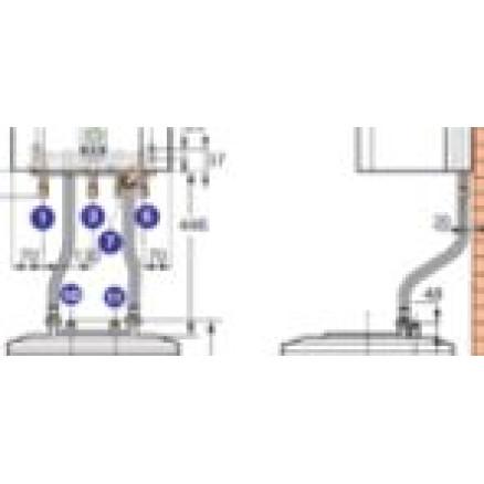Katla EMC+SR130 hidr. piesl. komplekts, HR92