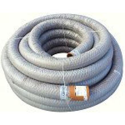 PVC dren.caur. 128/113 ar ģeotekstila filtru (50m)