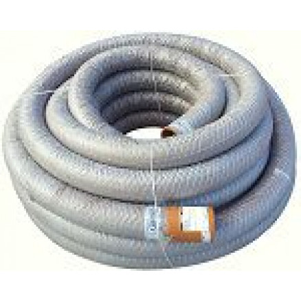 PVC dren.caur. 160/145 ar ģeotekstila filtru (50m)