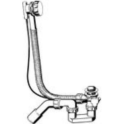 Sifons vannai Simplex ar trosi D50/40mm, Viega