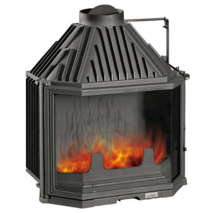 Kamīna kurtuve Uniflam 700 Pryzmat ar dūmvārstu