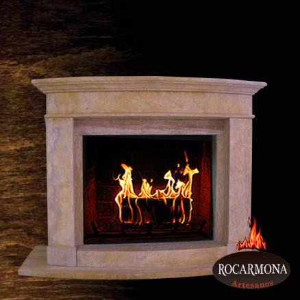 Marmora kamīna portāls Rocarmona RA-26