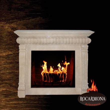Marmora kamīna portāls Rocarmona RA-28